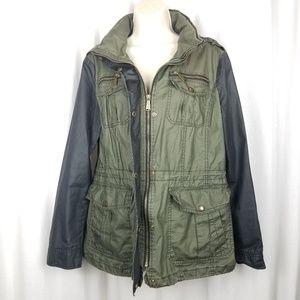 Michael Kors Jackets & Coats - Michael Kors womens rain jacket size L green